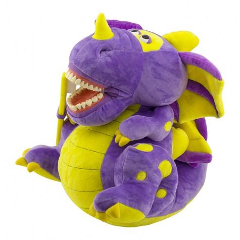 Игрушка мягкая с зубами Revyline WJ-033, Дракон