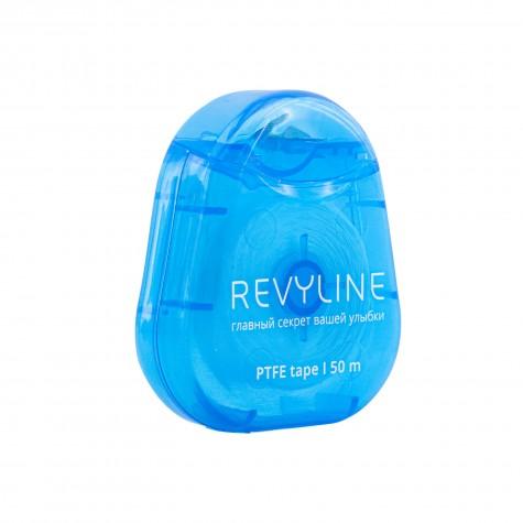 Зубная нить вощеная Revyline PTFE, мятная, 50м